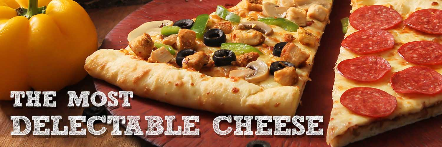 The Most Delectable Pizza