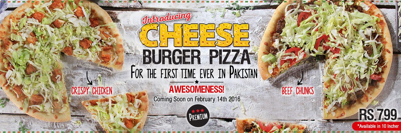 Cheese Burger Pizza